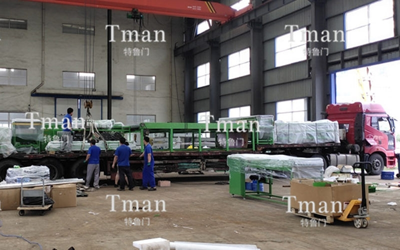 Great news! The aluminum template automatic sorting system project has successfully completed the delivery!
