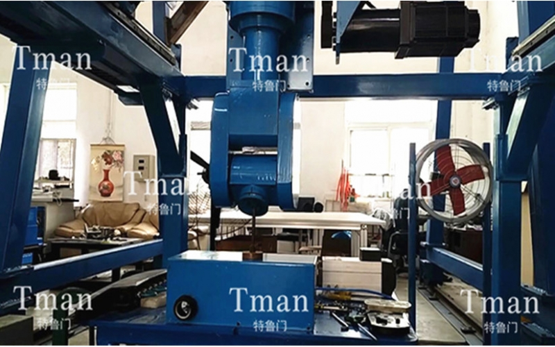 Gantry six axis grinding robot